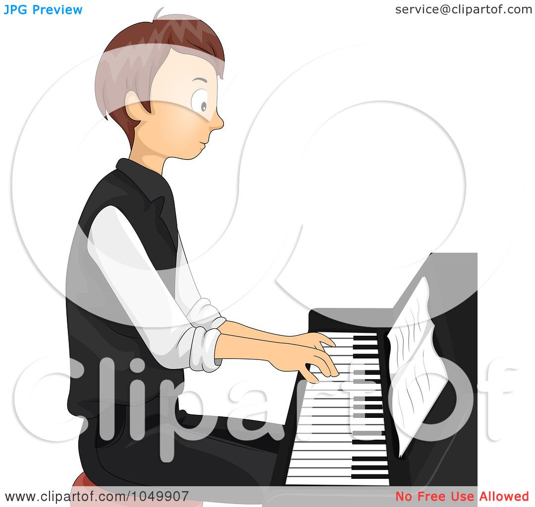 1080x1024 Royalty Free (Rf) Cliprt Illustration Of Teen Boy Playing