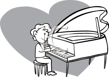 350x247 Royalty Free Piano Clip Art, Entertainment Clipart