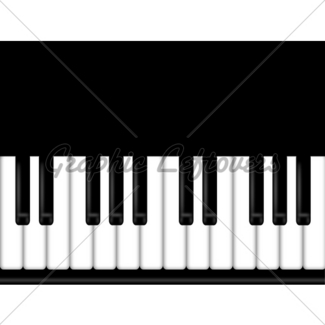 325x325 Grand Piano Keyboard Black And White Background Gl Stock Images