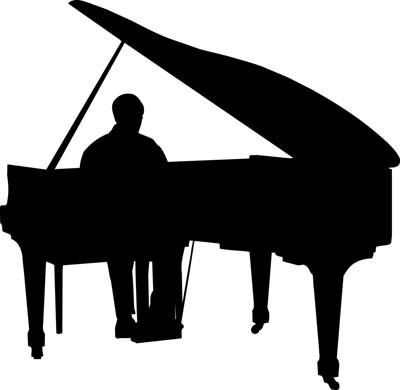 400x390 126 Best Piano With Boy Images Artists, Black