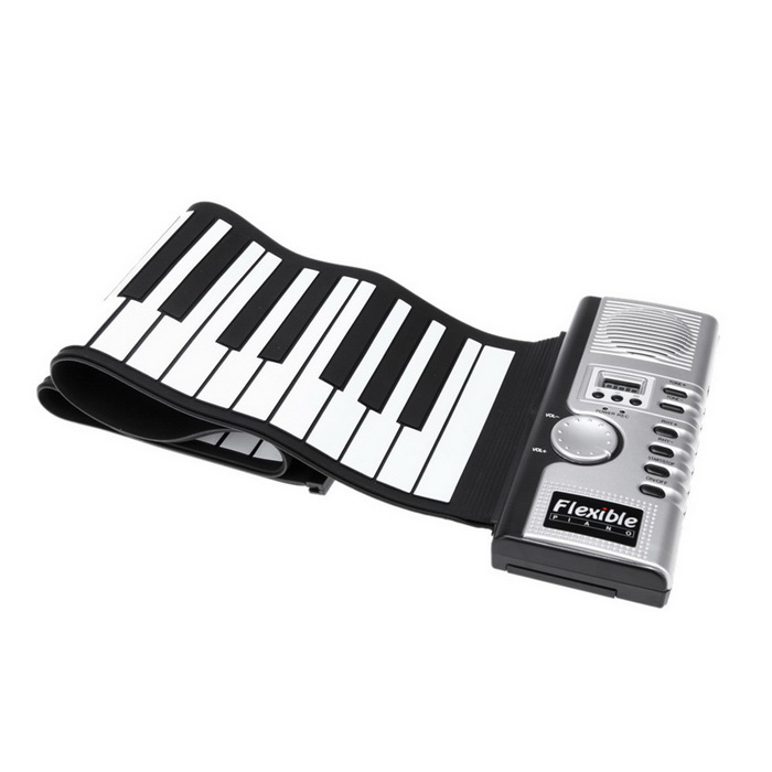 700x700 Portable Roll Up Electric Keyboard 61 Keys Piano
