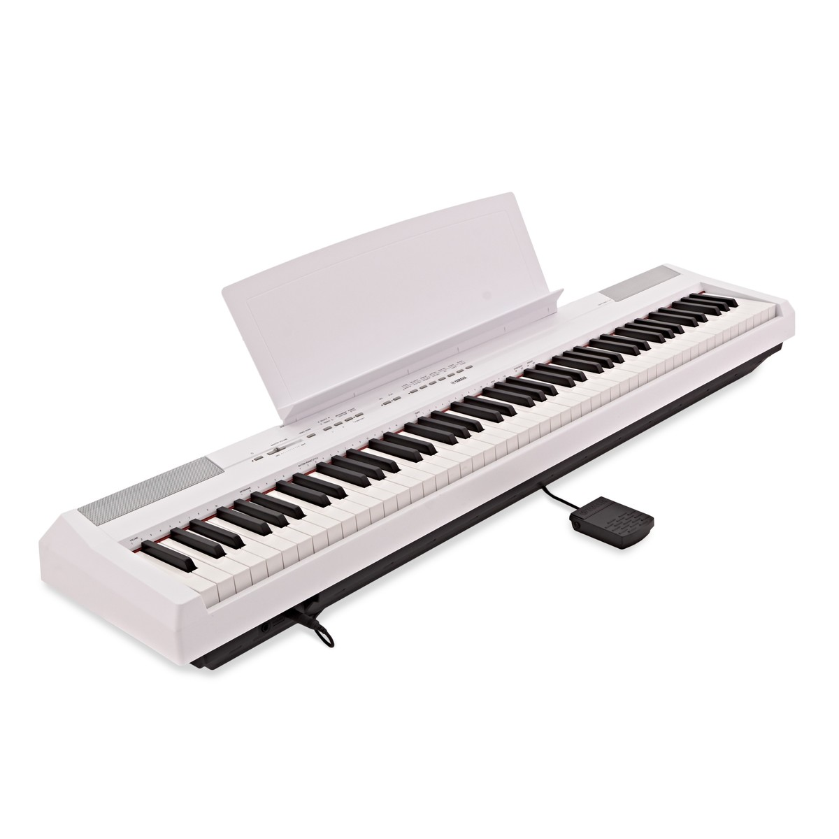 1200x1200 Yamaha P115 Digital Piano, White