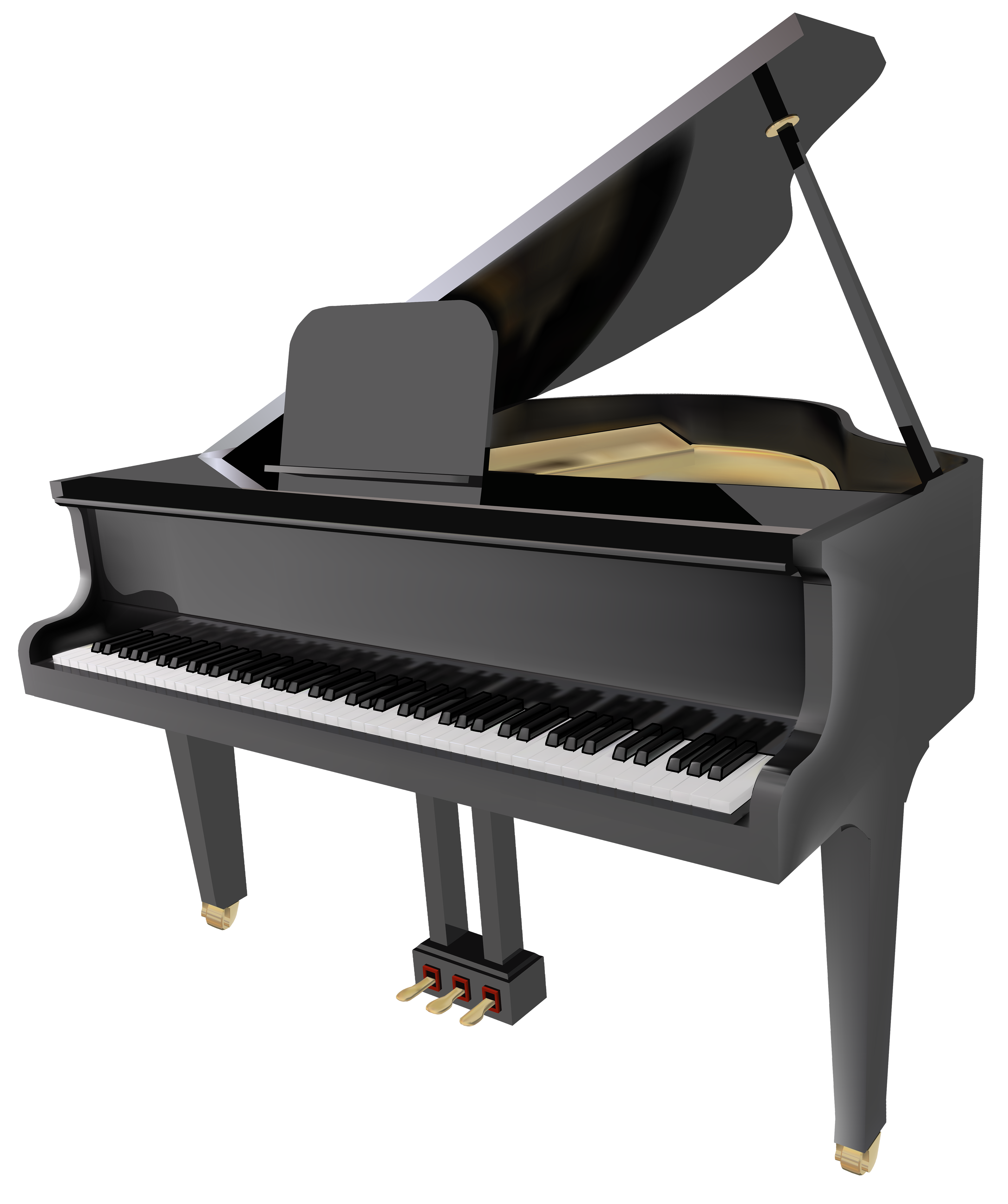 4186x5000 Piano Clip Art Free Clipart Images 3 Clipartcow 2