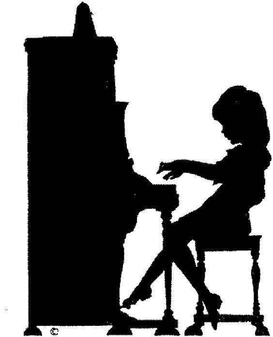 564x696 Piano Clipart Hand