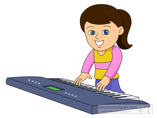 550x413 Piano Clipart Kid