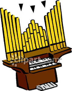 237x300 Piano Clipart Organist