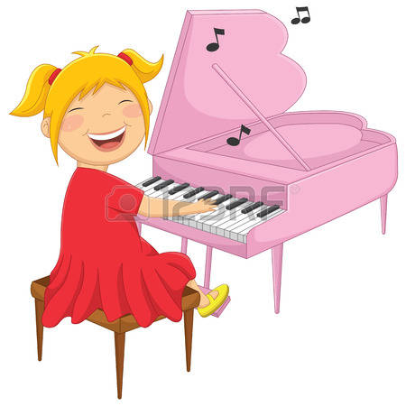450x450 Woman Clipart Pianist