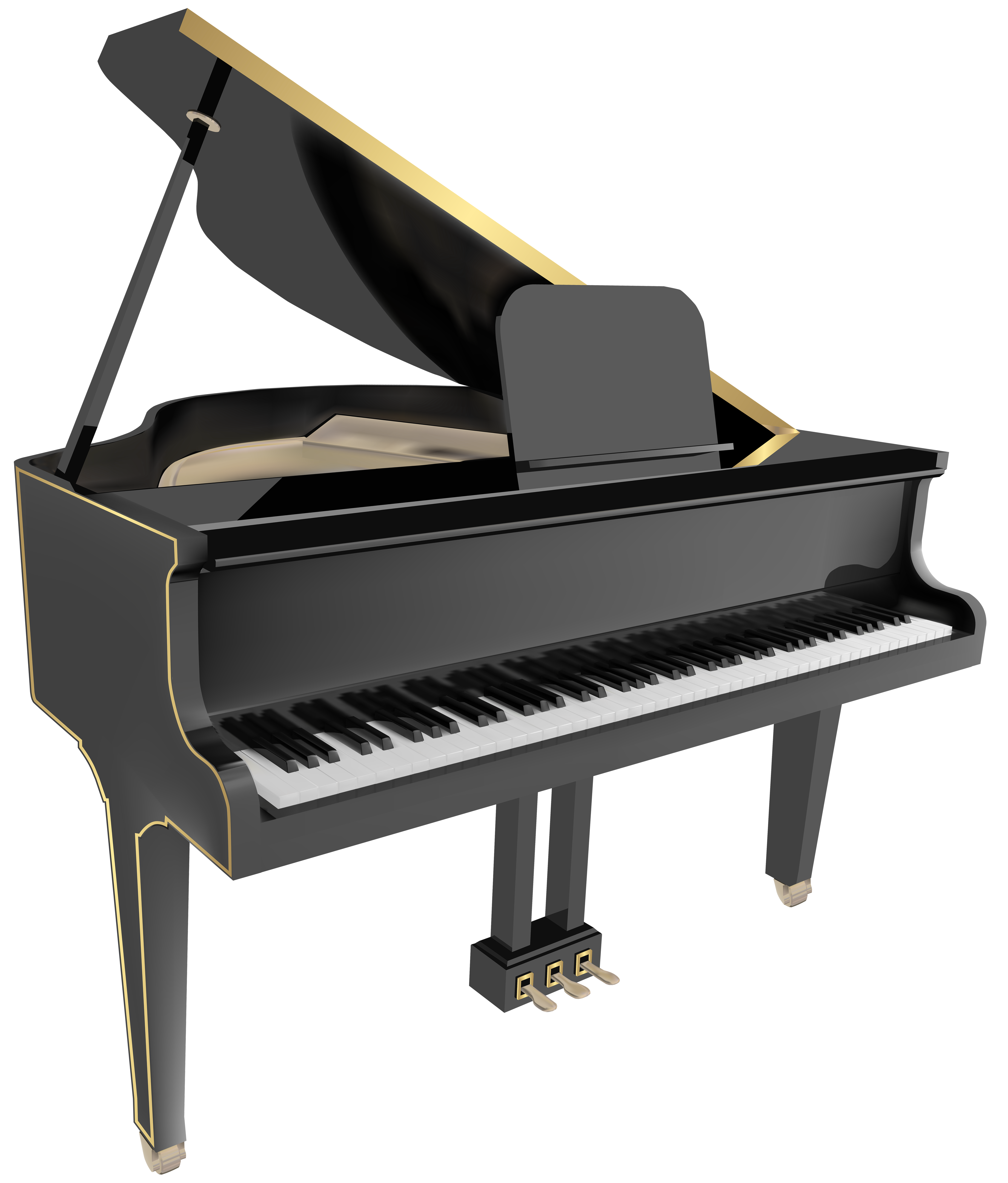 5967x7000 Grand Piano Png Clip Art Imageu200b Gallery Yopriceville