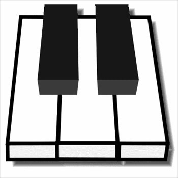 350x350 Image Of Piano Keyboard Clipart 6 Free Clip Art