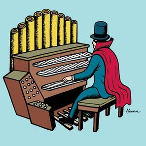 296x296 Piano Clipart Organist