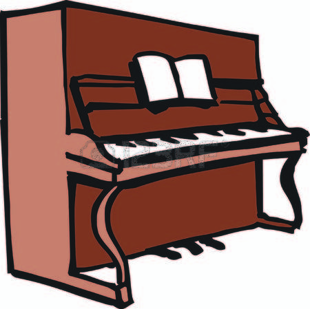 450x449 Piano Clipart Upright