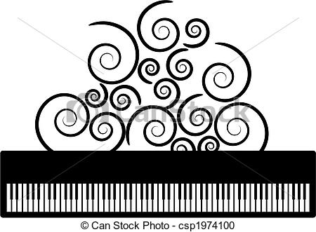 450x331 Vector Clipart Of Piano With Clipart Panda