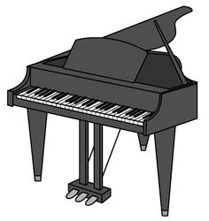 236x250 Inside A Piano Clip Art Cliparts