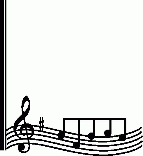 490x532 43 Best Music Clipart Images Music Sheets