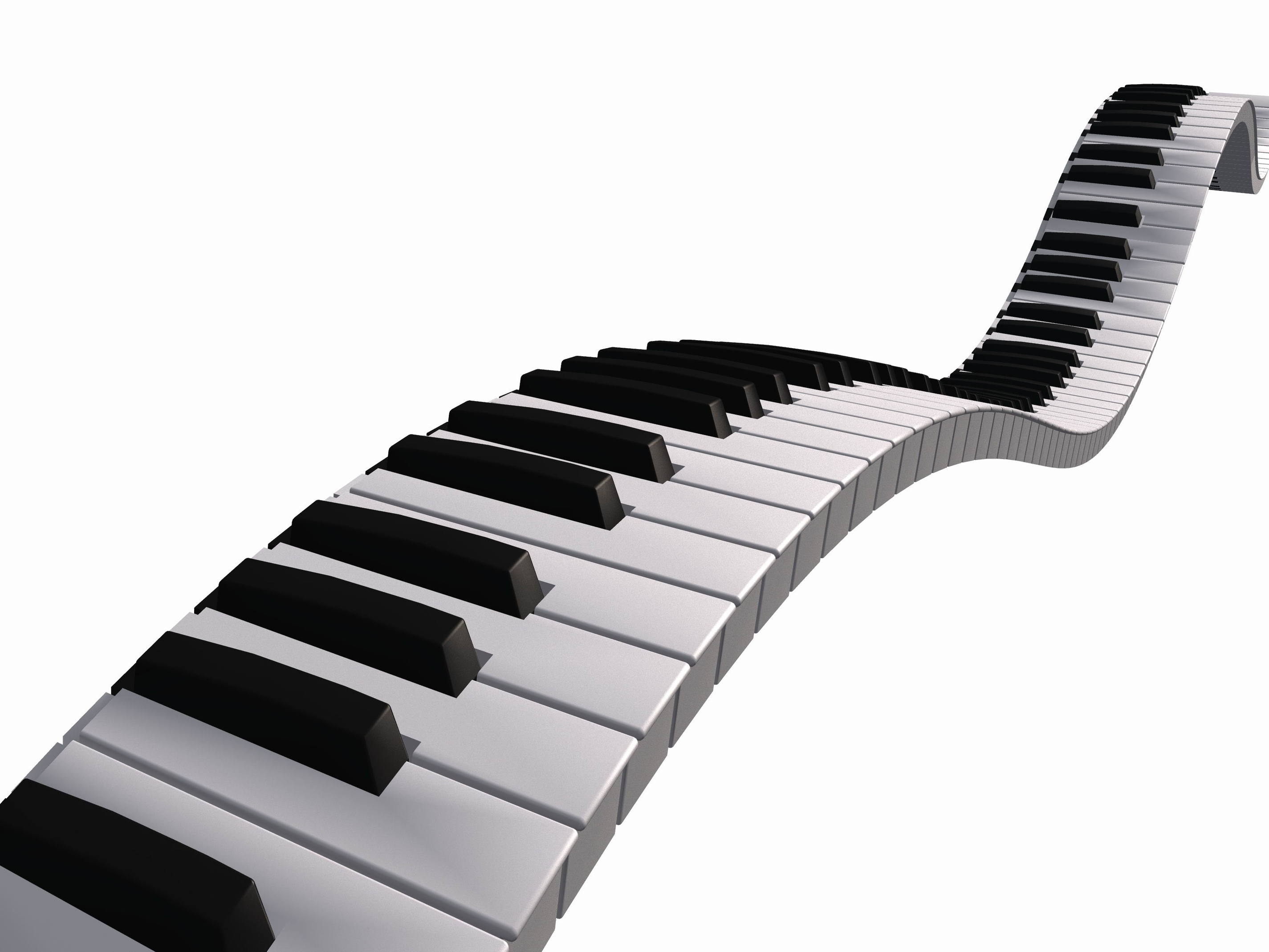 2850x2138 Piano Keys Clip Art