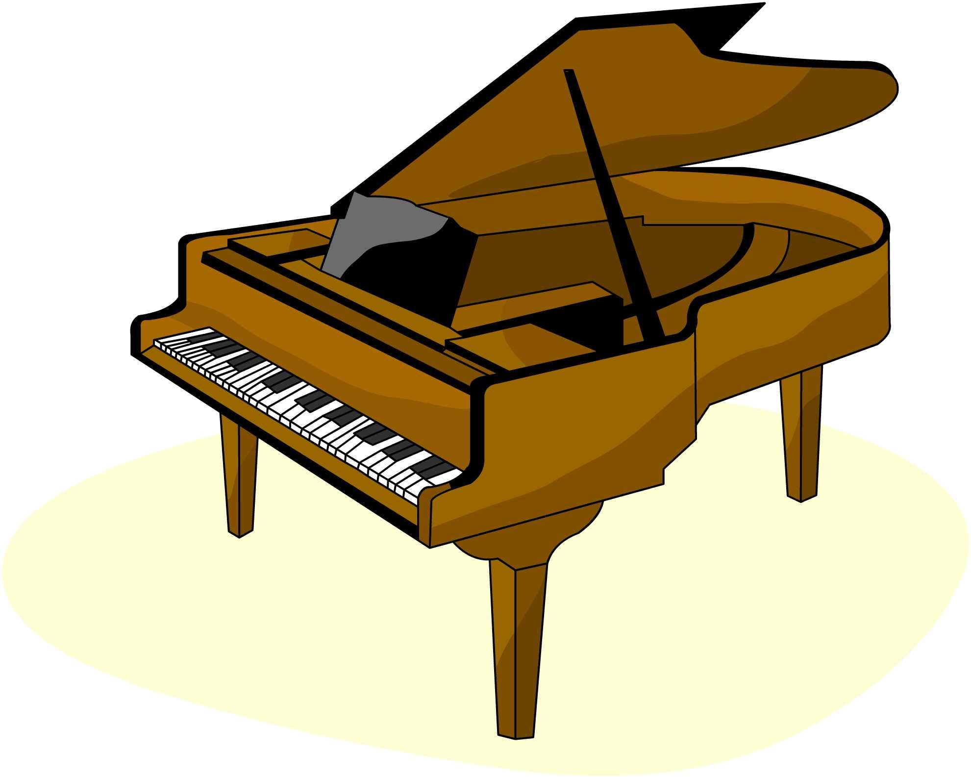 1981x1587 Piano Clipart Black And White Free Images