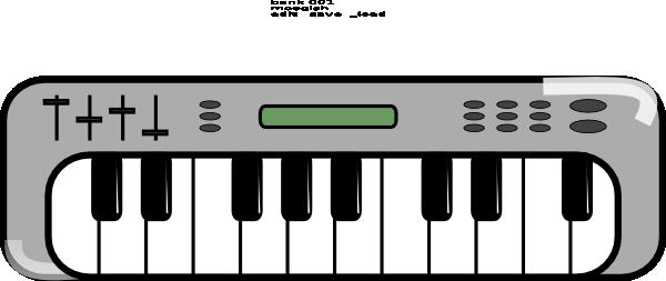 600x253 Keyboard Clipart Musical Keyboard