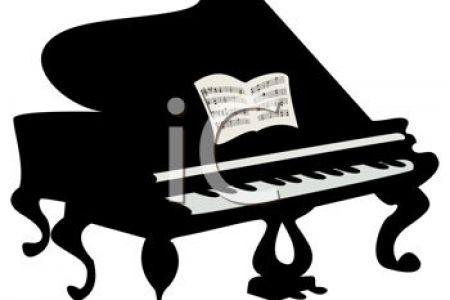 450x300 Church Piano Clip Art