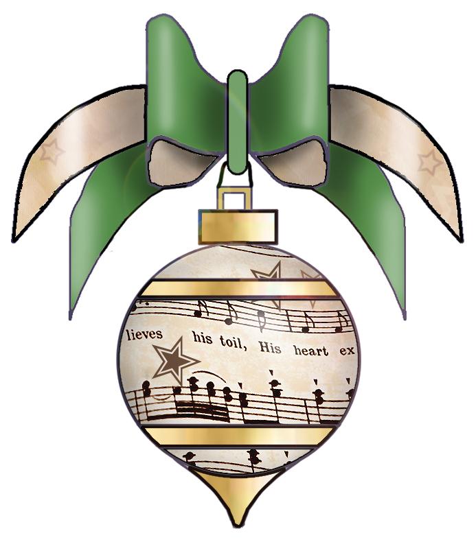 693x790 Free Christmas Piano Clipart
