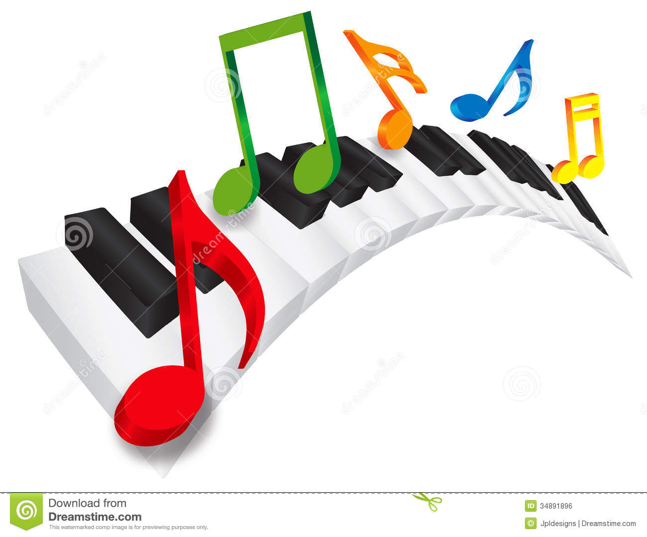 1300x1079 Color Clipart Piano Keyboard