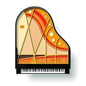 170x170 Grand Piano Clip Art