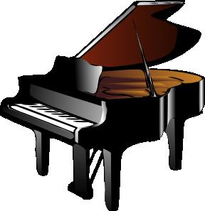 288x297 Piano Clip Art