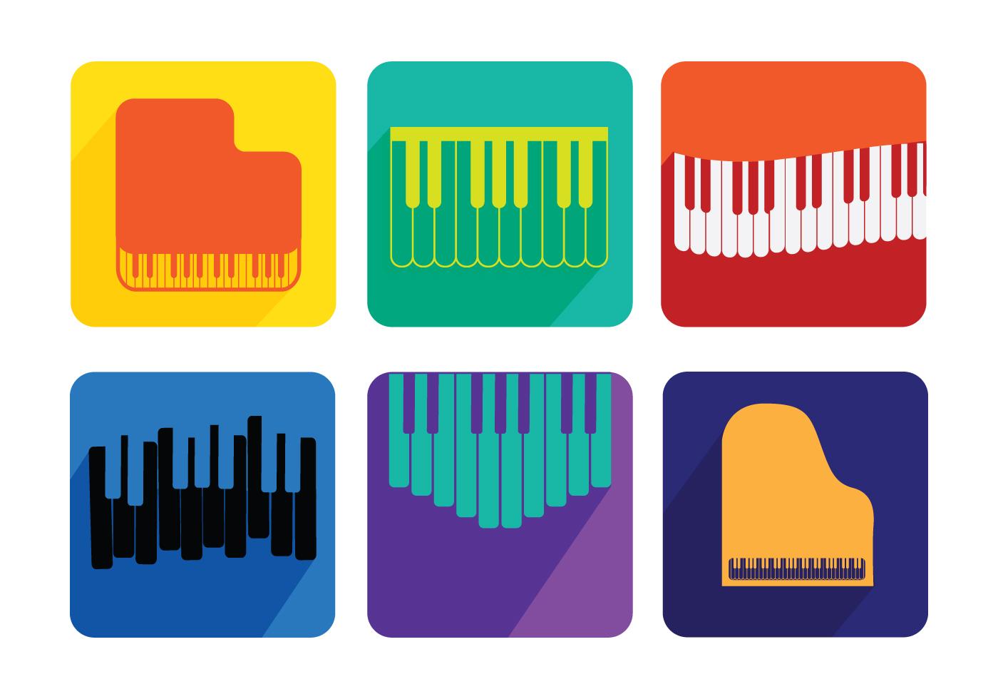 1400x980 Piano Recital Vectors