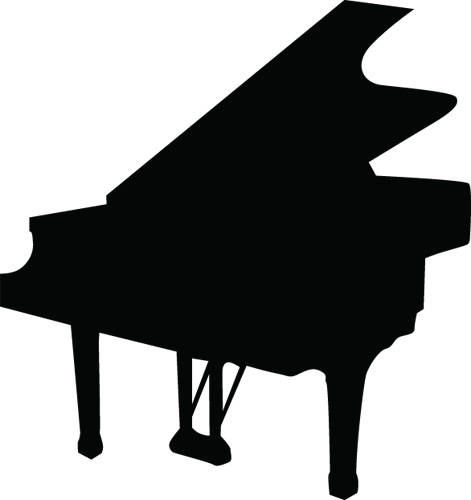 471x500 Playing Piano Clipart Free Clipart Images