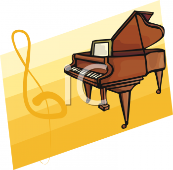 350x343 Royalty Free Piano Clip Art, Entertainment Clipart