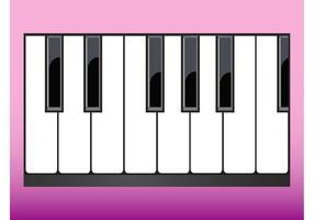 286x200 Piano Keyboard Free Vector Art
