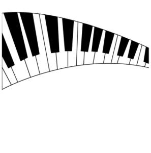 297x300 Piano Keys Clip Art Many Interesting Cliparts