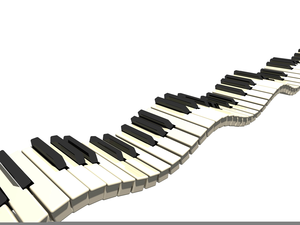 300x225 Piano Keys Clipart Free Free Images