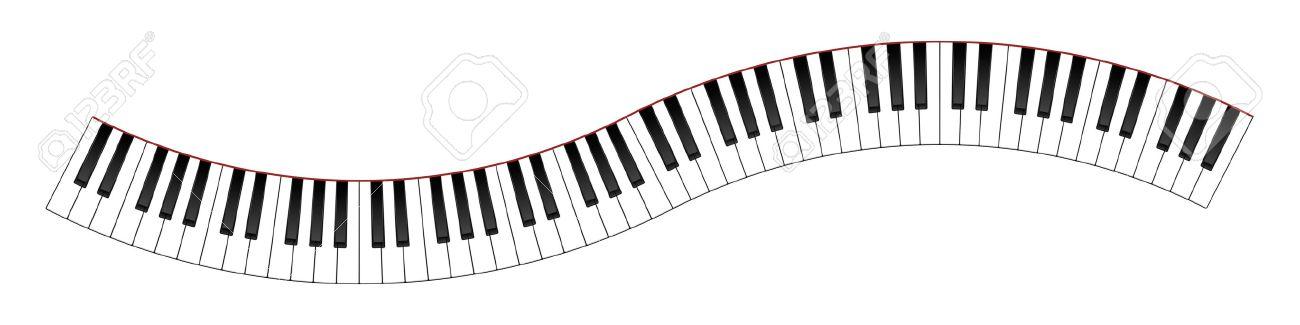 1300x325 Piano Clipart Wavy
