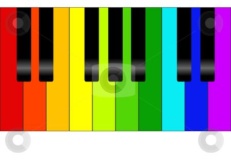450x318 Rainbow Clipart Piano