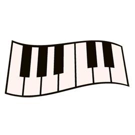270x270 Free Svg File Sure Cuts A Lot 07.31.10 Piano Keys Svgs