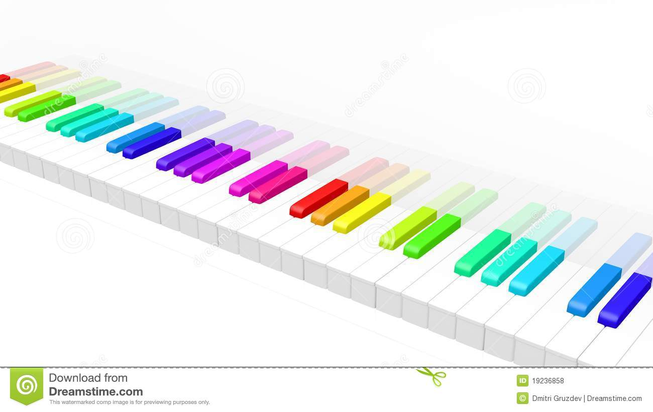 1300x821 Colors Clipart Piano Keyboard