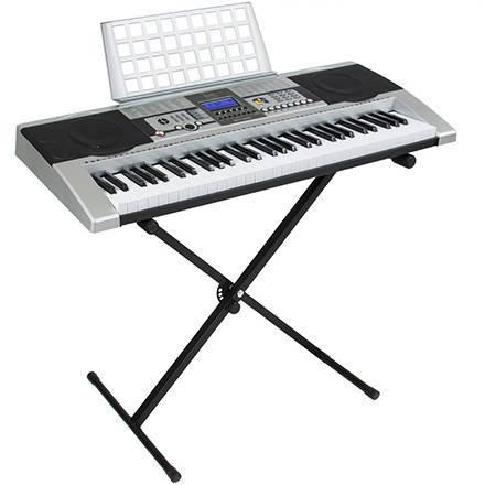 440x440 Electronic Piano Keyboard 61 Key Music Key Board Piano With X