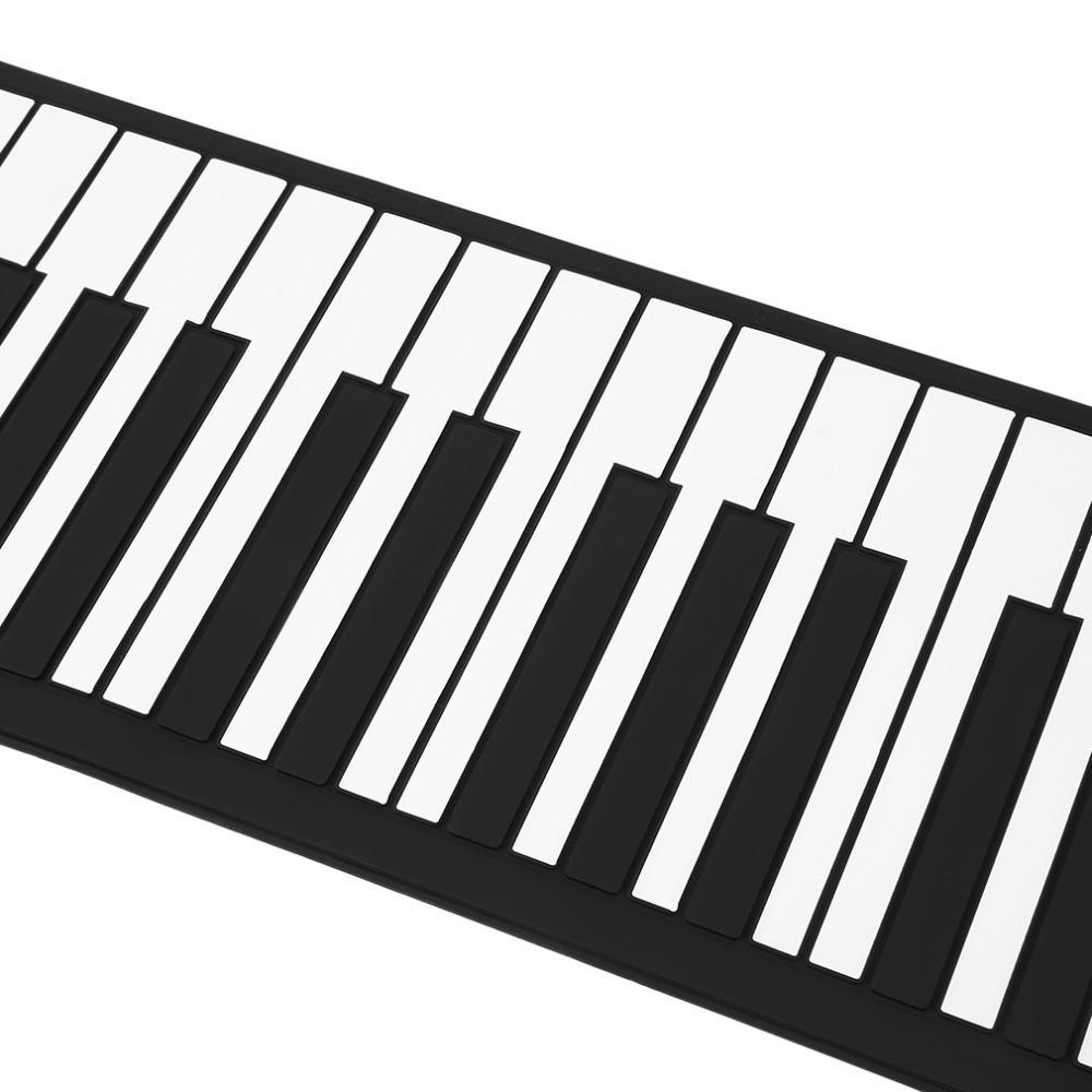 1000x1000 Flexible Roll Up Electronic Piano Keyboard