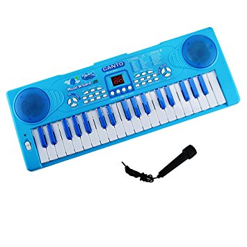 355x355 Piano For Kids, Shayson 37 Key Multi Function Electronic Keyboard