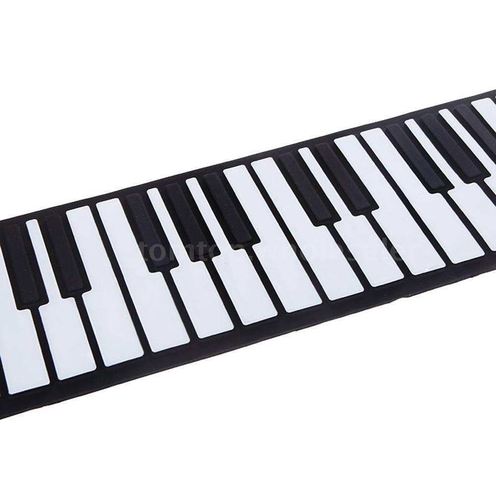 1000x1000 Usb 88 Keys Midi Roll Up Electronic Piano Keyboard Silicone