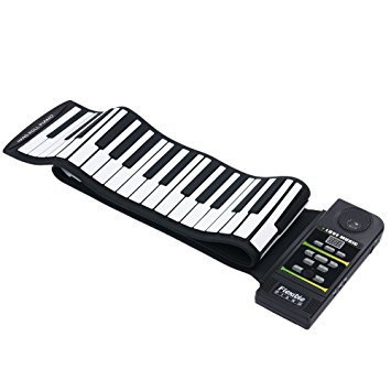 355x355 Andoer 88 Key Electronic Piano Keyboard Silicon