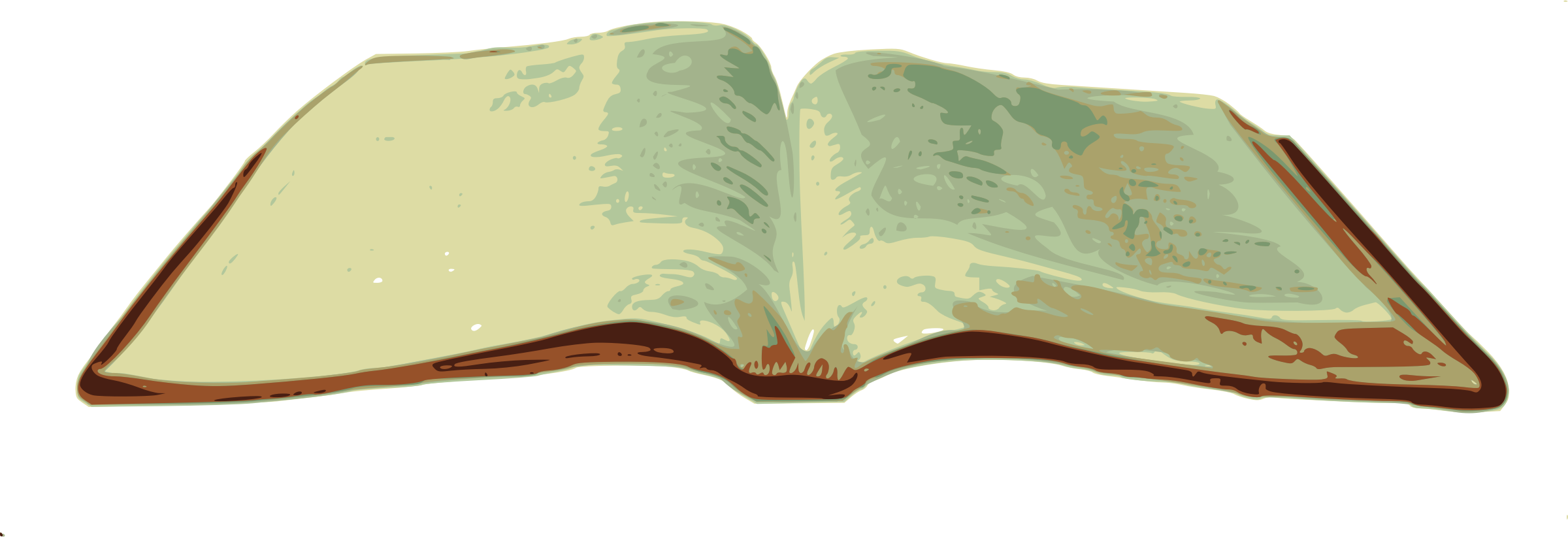 2400x822 Scripture Clipart Open Bible