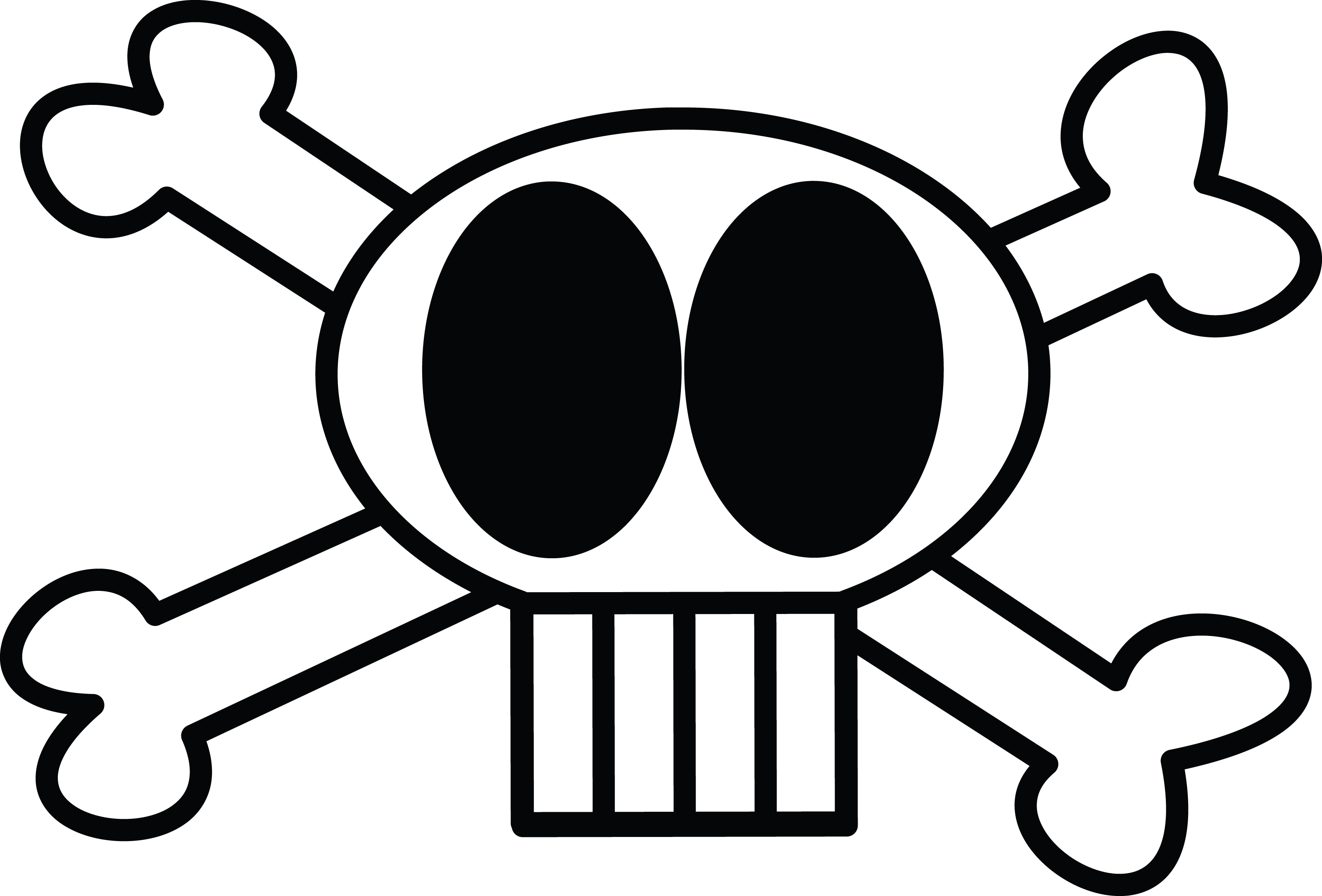 3200x2170 Deadth Clipart Skull And Crossbones