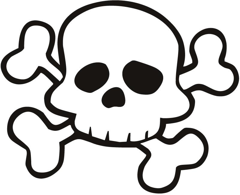 800x653 Free Download Skull And Crossbones Preschoolers Clipart