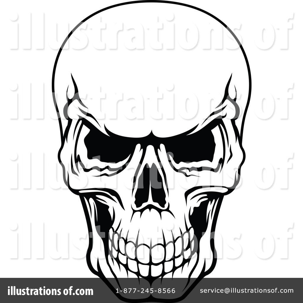 1024x1024 Skull Clipart