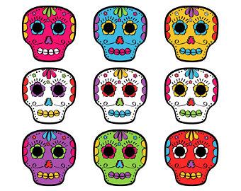 340x270 Skull Clip Art Etsy
