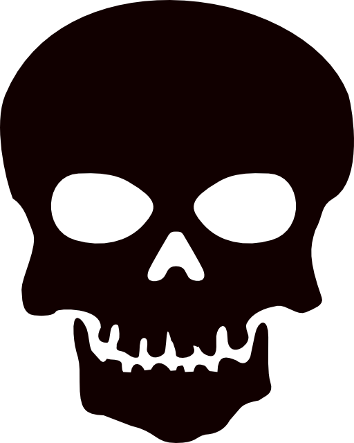 512x640 Skull Clip Art Background Free Clipart Images