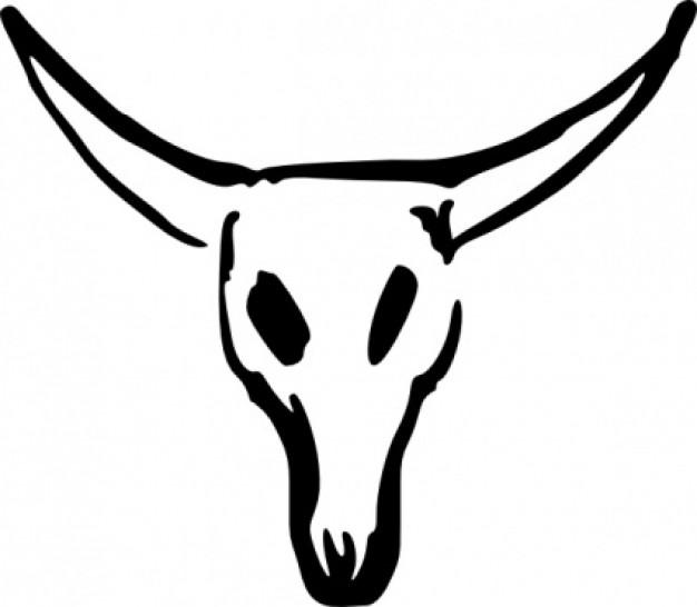 626x546 Skull Clip Art Vector Free