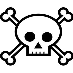 300x300 Clipart Of Skulls