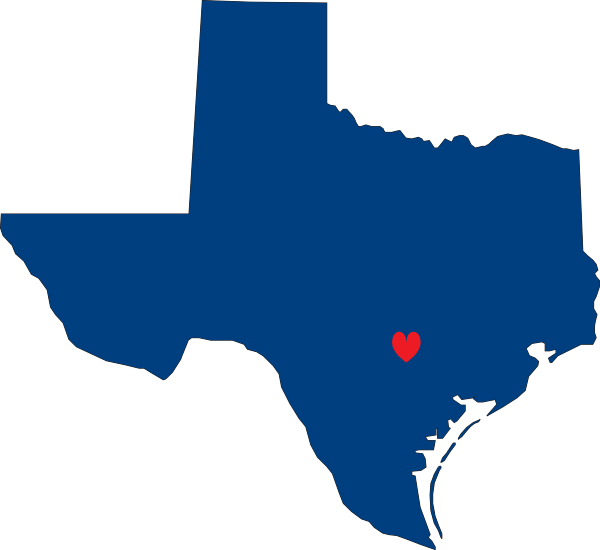 600x550 I Heart Texas Clip Art
